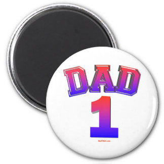 DAD 1 GIFTS MAGNET