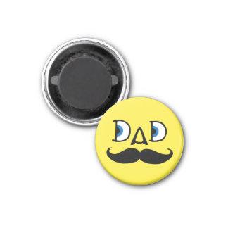 Dad 1 Inch Round Magnet