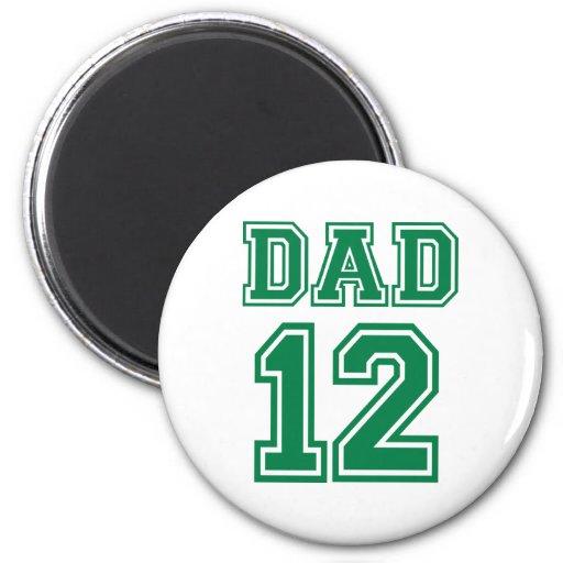 Dad 2012 fridge magnets