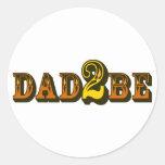 Dad 2 Be Sticker