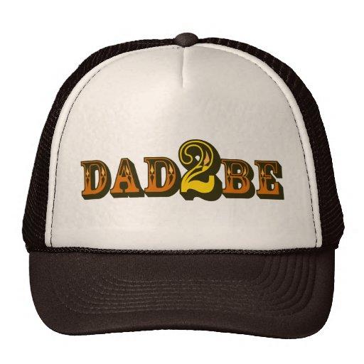 Dad 2 Be Trucker Hat