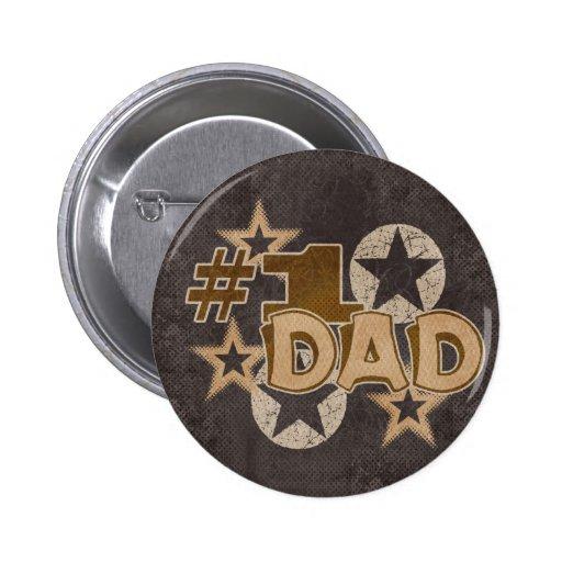 Dad 2 Inch Round Button