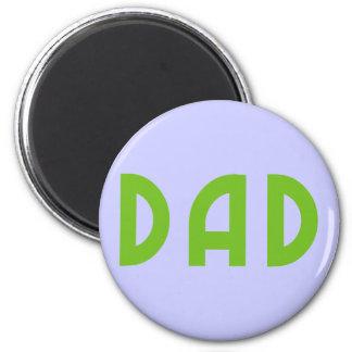 Dad 2 Inch Round Magnet