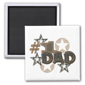 Dad 2 Inch Square Magnet