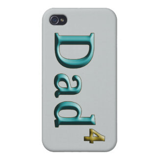 Dad 4 Dad to the 4th Power iPhone 4/4S Cases