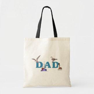 Dad Ahoy Budget Tote Bag