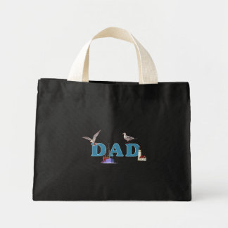 Dad Ahoy Mini Tote Bag
