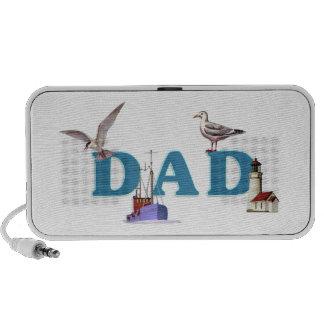 Dad Ahoy PC Speakers