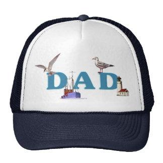 Dad Ahoy Trucker Hat