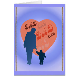 Dad All Heart Card
