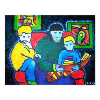 Dad and Boys Card