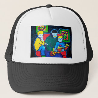Dad and Boys Trucker Hat