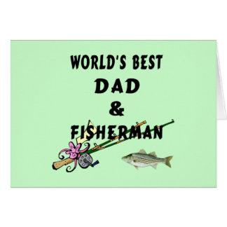 Dad and Fisherman Card