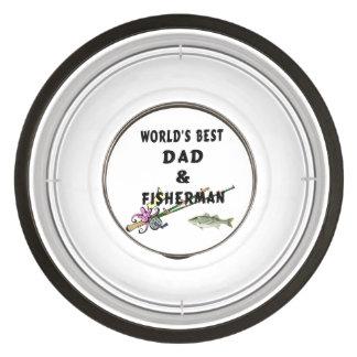Dad and Fishing Bowl