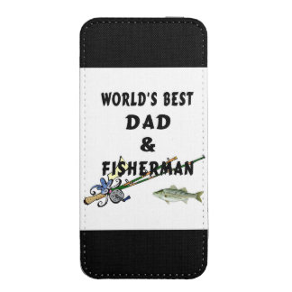 Dad and Fishing iPhone SE/5/5s/5c Pouch