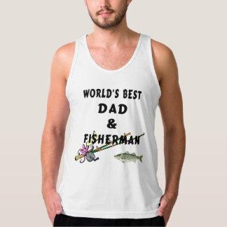 Dad and Fishing Tanktop