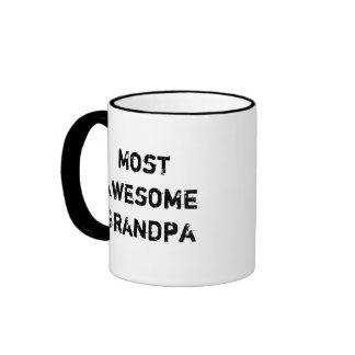 Dad and Grandpa Two Sided Mug