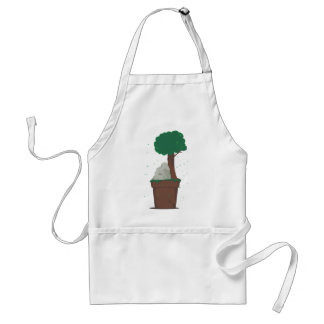 Dad and Mom ancestor Adult Apron