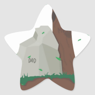 Dad and Mom ancestor Stickers