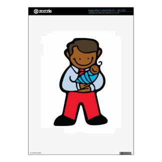 Dad & Baby iPad 3 Skins