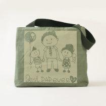 dad bag,dad apparel,dad shopping bag,dad gift tote