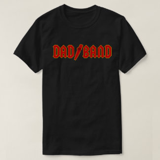 Dad Band - Red Logo T-Shirt