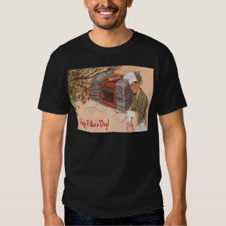 Dad Barbeque BBQ Retro Ad Vintage Father's Day Shirt