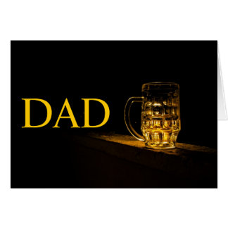 Dad Beer Birthday card