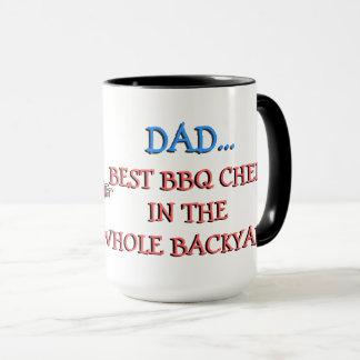 DAD Best BBQ Chef Mug