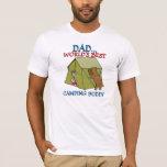 DAD Best Camping Buddy T-Shirt