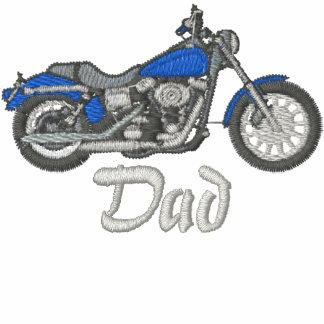 Dad Biker Embroidered Shirt