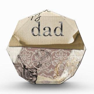 Dad Birthday Acrylic Award