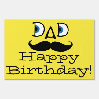 Dad Birthday Sign
