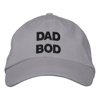 Dad Bod Men's Adjustable Hat