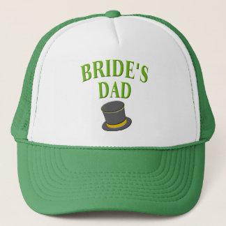 dad-bride-tophat trucker hat