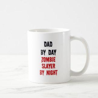 Dad By Day Zombie Slayer By Night Mug