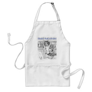 Dad Cat- Dewey Publications Adult Apron