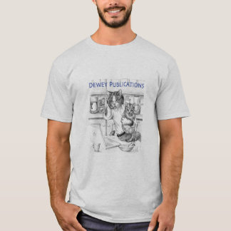 Dad Cat- Dewey publications T-Shirt