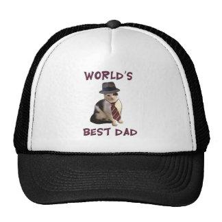 Dad Cat: World's Best Dad Trucker Hat
