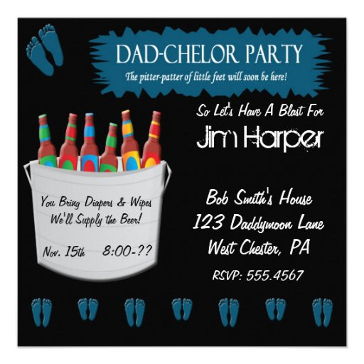 Personalized Beer party Invitations – Beer Party Invitations