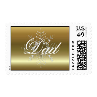 Dad Christmas Postage