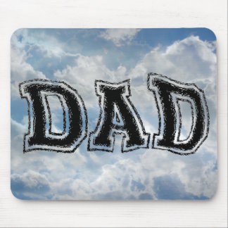 DAD - College Punked Font - Mult Products Mouse Pad