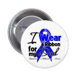 Dad - Colon Cancer Ribbon Pin