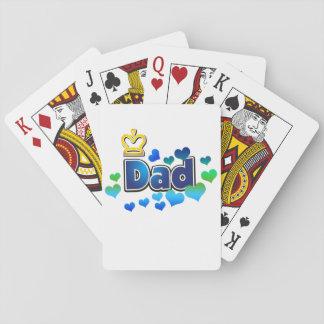 Dad-crown design-regular playing cards