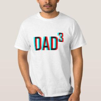 Dad cubed 3d T-Shirt