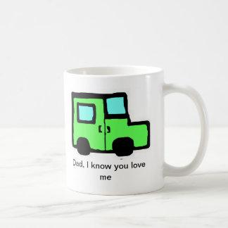 Dad Cup Classic White Coffee Mug