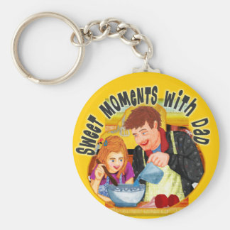 Dad & Daughter Keychain
