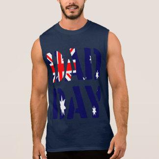 DAD DAY Australia Happy Father's day! Sleeveless Shirt
