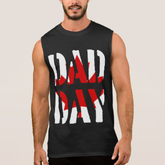 DAD DAY Canada Happy Father's day! Sleeveless Shirt