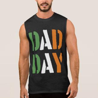 DAD DAY Irish Happy Father's day! Sleeveless Shirt